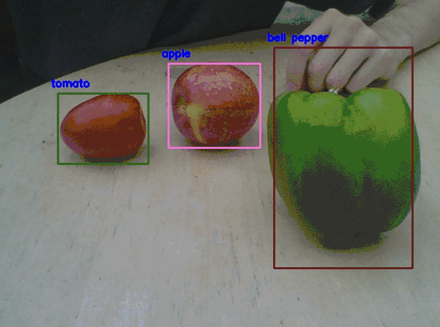 Updating su_chef object detection with custom trained model